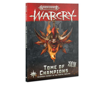 Warcry - Tome Of Champions 2019 Book (English)