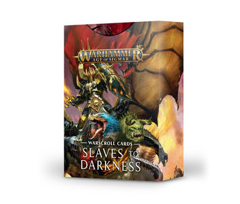Warscroll Cards - Slaves To Darkness (English) (PRE-ORDER)