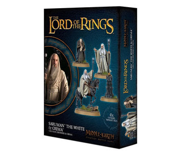 Saruman The White & Grima (PRE-ORDER)