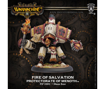 Protectorate of Menoth Fire Of Salvation Character Warjack