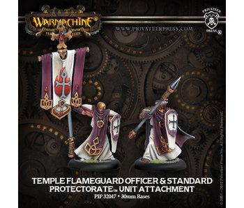 Protectorate of Menoth Flameguard Perceptor & Standard