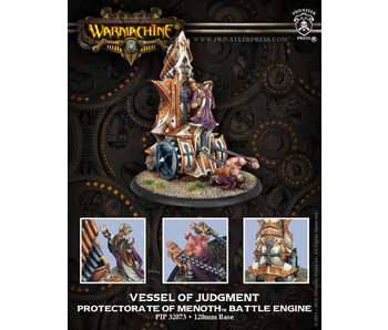 Protectorate of Menoth Vessel Of Judgment Battle Engine