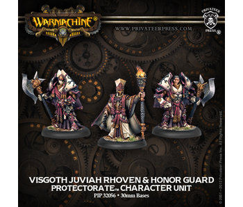 Protectorate of Menoth Visgoth Roven & Bodyguard