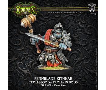 Trollbloods Fennblade Kithkar Solo