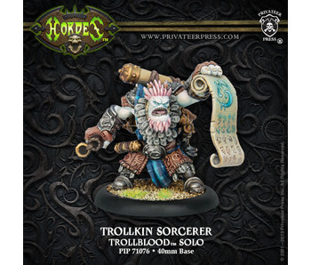 Trollbloods Trollkin Sorcerer Solo