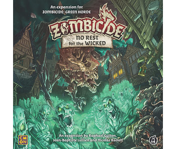 Zombicide Black Plague - No Rest For The Wicked (Français)