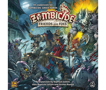 Zombicide Black Plague - Friends And Foes (Français)