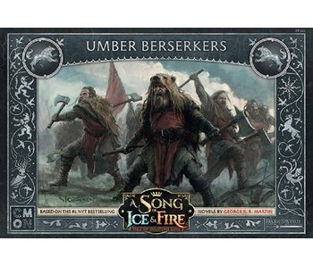A Song of Ice & Fire - Stark Umber Berserkers