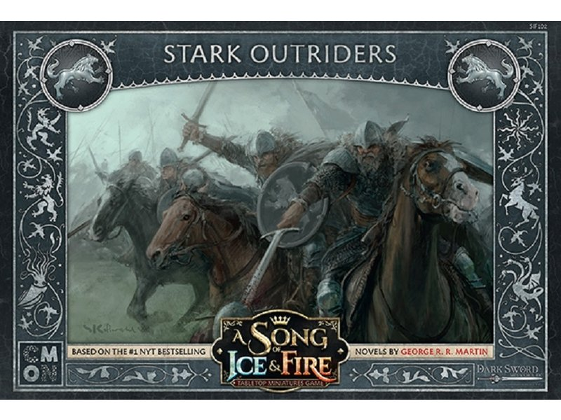 CMON A Song of Ice & Fire - Stark Outriders