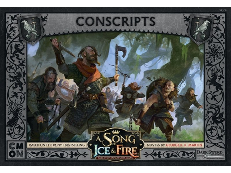 CMON A Song of Ice & Fire - Night's Watch Conscripts