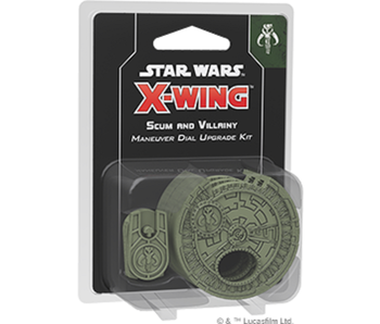 X-Wing 2nd Edition: Scum Maneuver Dial Upgrade Kit