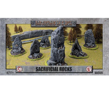 Battlefield in a Box - Sacrificial Rocks