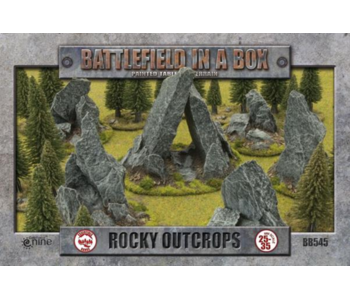 Battlefield in a Box - Rock Outcrops