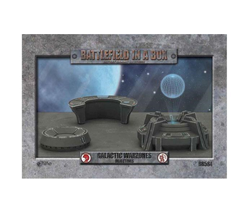 Battlefield in a Box - Galactic Warzones Objectives