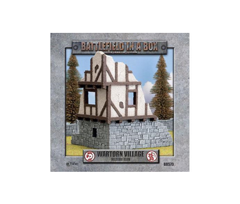 Battlefield in a box - Wartorn Village Medium Ruin