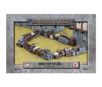 Battlefield in a Box - Wartorn Village Barricades