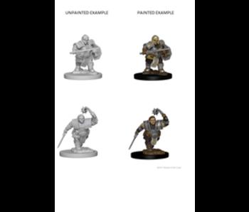 D&D Unpainted Minis Dwarf Female Fighter