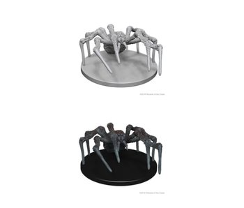 D&D Unpainted Minis Wv1 Spiders