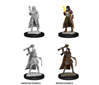 D&D Unpainted Minis Wv10 Female Elf Cleric