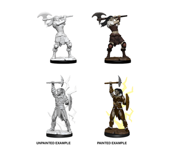D&D Unpainted Minis Wv10 Female Goliath Barbarian