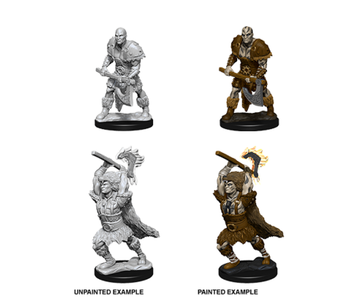 D&D Unpainted Minis Wv10 Male Goliath Barbarian