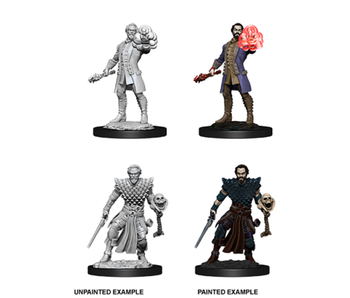 D&D Unpainted Minis Wv10 Male Human Warlock
