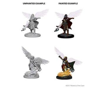 D&D Unpainted Minis Wv4 Aasimar Female Wizard