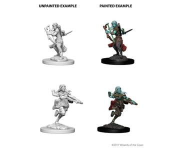 D&D Unpainted Minis Wv4 Air Genasi Female Rogue