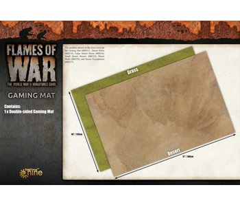 Battlefield in a Box - Grassland / Desert Gaming Mat