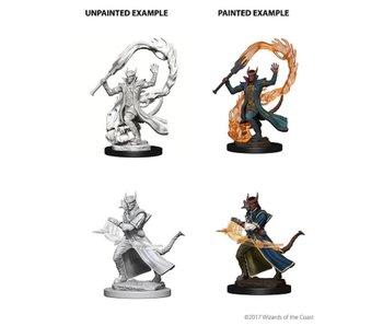 D&D Unpainted Minis Wv4 Tiefling Male Sorcerer