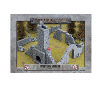 Battlefield in a box - Wartorn Village Ruins