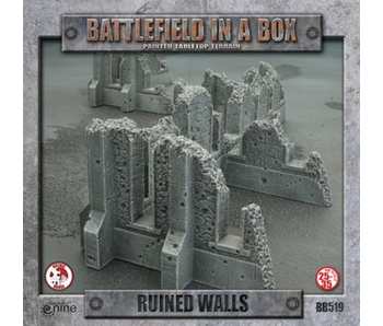 Battlefield in a Box: Gothic Ruined Walls