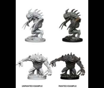D&D Unpainted Minis Wv5 Grey Slaad & Death Slaad