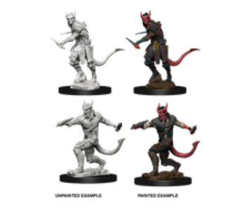 D&D Unpainted Minis Wv5 Tiefling Male Rogue