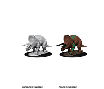 D&D Unpainted Minis Wv7 Triceratops