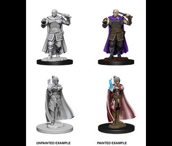 D&D Unpainted Minis Wv8 Human Ranger & Moon Elf
