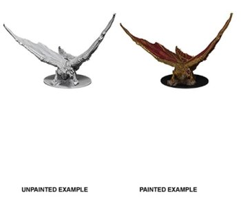 D&D Unpainted Minis Wv9 Young Brass Dragon