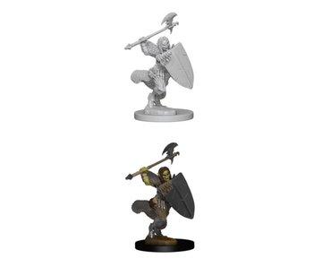 Pathfinder Unpainted Minis  Half-Orc Female Barbarian