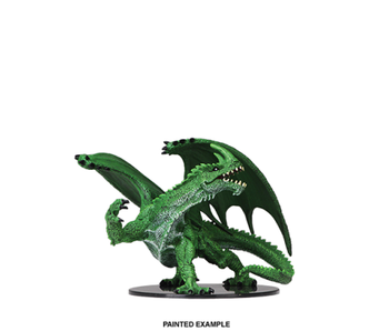 Pathfinder Unpainted Minis Gargantuan Green Dragon