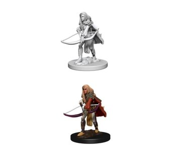 Pathfinder Unpainted Minis Wv1 Human Female Fighter