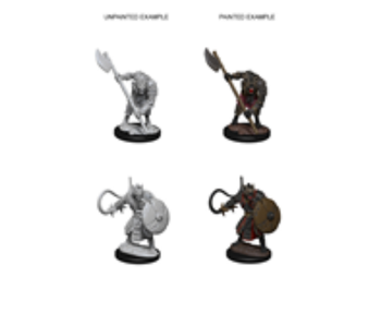 Pathfinder Unpainted Minis Wv3 Gnolls