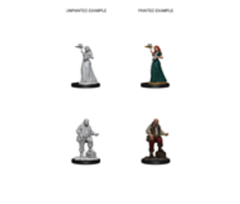 Pathfinder Unpainted Minis Wv3 Merchants/Serving Girls