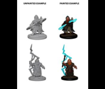 Pathfinder Unpainted Minis Wv4 Dwarf Male Sorcerer