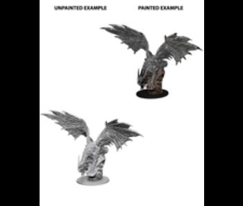 Pathfinder Unpainted Minis Wv4 Silver Dragon