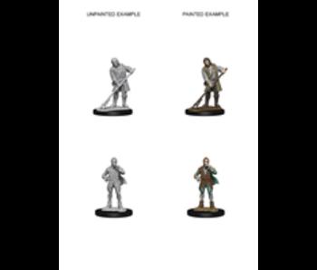 Pathfinder Unpainted Minis Wv4 Townspeople