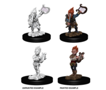 Pathfinder Unpainted Minis Wv5 Gnome Male Bard