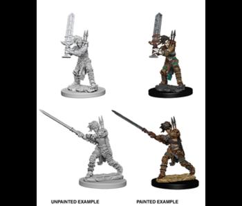Pathfinder Unpainted Minis Wv6 Female Human Barbarian
