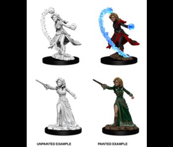 Pathfinder Unpainted Minis Wv6 Female Human Wizard