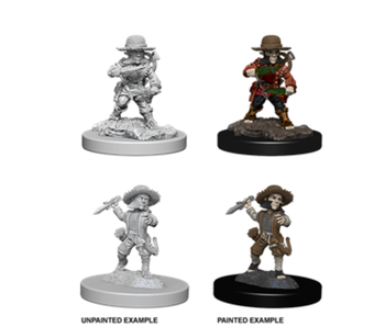 Pathfinder Unpainted Minis Wv6 Male Halfling Rogue