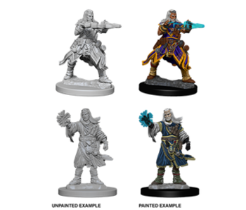 Pathfinder Unpainted Minis Wv6 Male Human Wizard